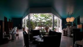 Hôtel de boutique dans un neighbothood à la mode au Mexique Photographie stock libre de droits