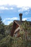 Hôtel de cabine de logarithme naturel Photo libre de droits