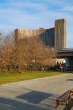 Hôtel de cosmos à Moscou Photos libres de droits