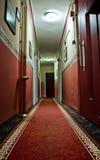 hôtel de couloir Photos libres de droits