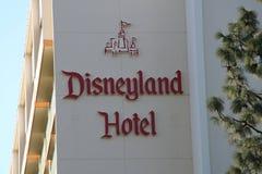 Hôtel de Disney Images libres de droits