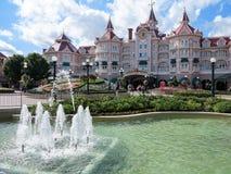 Hôtel de Disneyland Photo libre de droits