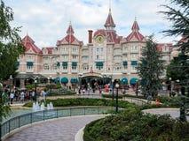 Hôtel de Disneyland Images libres de droits