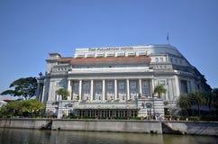 Hôtel de Fullerton à Singapour photos stock