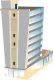 Hôtel de gratte-ciel Images libres de droits