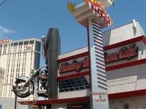 Hôtel de Hollywood de planète et casino et café de Harley Davidson en 2009, Las Vegas Photo libre de droits
