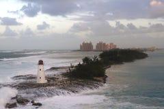 Hôtel de l'Atlantide en Bahamas Photographie stock