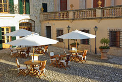 Hôtel de luxe dans Majorca Image libre de droits