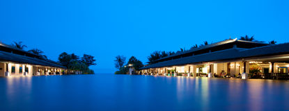 Hôtel de luxe Thaïlande Images libres de droits
