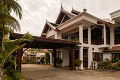 Hôtel de Manoluck dans Luang Prabang, Laos Photographie stock libre de droits