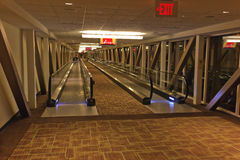 Hôtel de Mgm Grand de promenade mobile, Las Vegas images stock