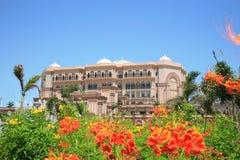 Hôtel de palais d'Emirats Photographie stock libre de droits