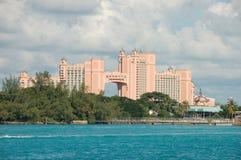 Hôtel de paradis, Nassau Photos stock