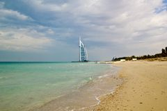 Hôtel de plage photographie stock