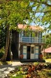 Hôtel de plantation en le Niévès, une île des Caraïbes Images stock