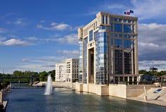 Hôtel de region, Montpellier images stock