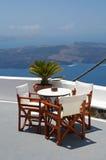Hôtel de Santorini Image libre de droits