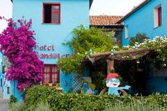 Hôtel de Smurf Photographie stock libre de droits