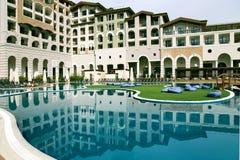 Hôtel de Sotchi Marriott Krasnaya Polyana photographie stock libre de droits