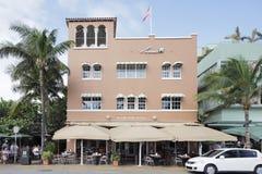 Hôtel de stationnement de rivage Miami Beach Photos stock