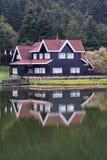 Hôtel de village Photographie stock