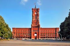 Hôtel de ville à Berlin Photos libres de droits
