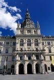Hôtel de ville à Graz Photographie stock