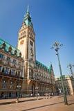 Hôtel de ville à Hambourg, Allemagne photographie stock