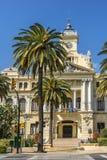 Hôtel de Ville à Malaga images stock