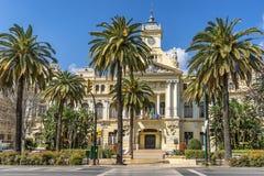Hôtel de Ville à Malaga photo stock