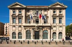Hôtel de ville à Marseille Photographie stock libre de droits