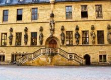 Hôtel de ville à Osnabrück Photographie stock