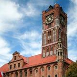 Hôtel de ville à Torun, Pologne Photographie stock