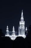 Hôtel de ville à Vienne images libres de droits
