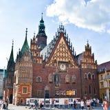Hôtel de ville à Wroclaw, Pologne photo stock