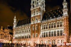 Hôtel de ville de Bruxelles images stock