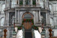 Hôtel de ville - Canada de Montréal de vieux port d'hôtel de ville Image stock