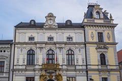 Hôtel de ville d'Uherske Hradiste Image libre de droits
