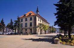 Hôtel de ville dans Swarzedz Photographie stock libre de droits