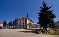Hôtel de ville dans Swarzedz Images libres de droits