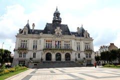 Hôtel de ville dans Vichy Images stock