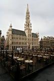 Hôtel de ville de Bruxelles Photographie stock libre de droits