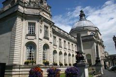 Hôtel de ville de Cardiff images stock