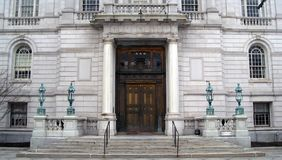 Hôtel de ville de Hartford le Connecticut Photographie stock libre de droits