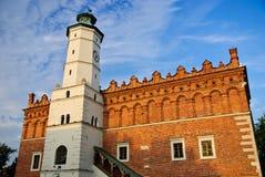 Hôtel de ville de la Renaissance dans Sandomierz, Pologne Image libre de droits