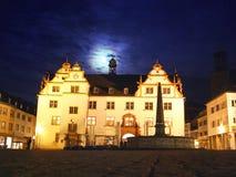 Hôtel de ville de la ville allemande Darmstadt Photo stock