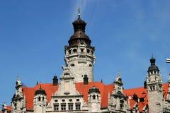Hôtel de ville de Leipzig Photo libre de droits