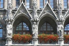 Hôtel de ville de Munich Photo libre de droits