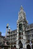 Hôtel de ville de Munich Photo stock
