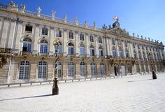 Hôtel de ville de Nancy Photo libre de droits
